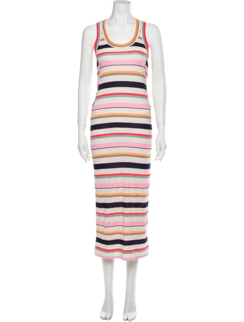 Marc by Marc Jacobs Striped Long Dress