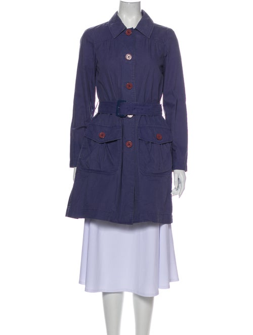 Marc by Marc Jacobs Trench Coat Blue