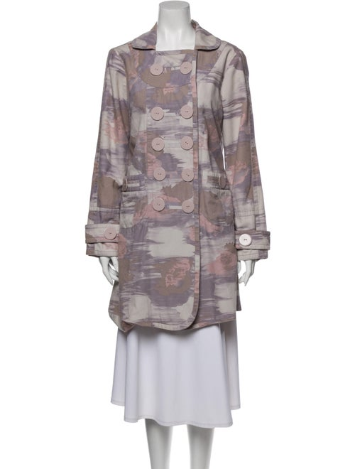 Marc by Marc Jacobs Printed Coat Purple