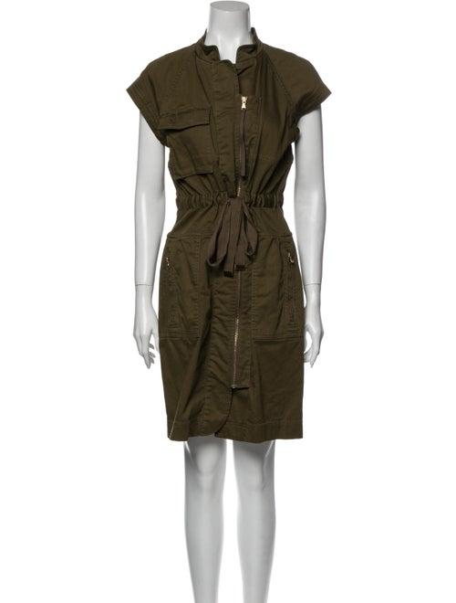 Marc by Marc Jacobs Mock Neck Knee-Length Dress Gr