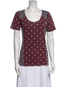 Marc by Marc Jacobs Printed Scoop Neck T-Shirt