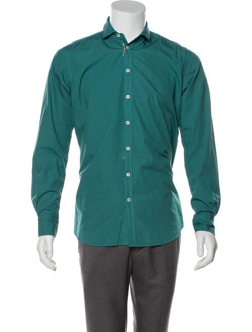 Maurizio Baldassari Woven Long Sleeve Shirt w/ Tag