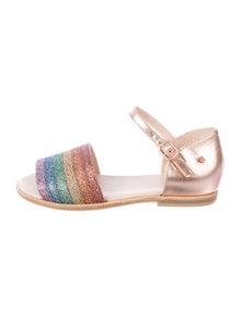 8d77b8b91cff8 Manuela De Juan. Girls' Leather Sandals