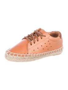 Manuela De Juan Kids' Leather Espadrille Sneakers w/ Tags