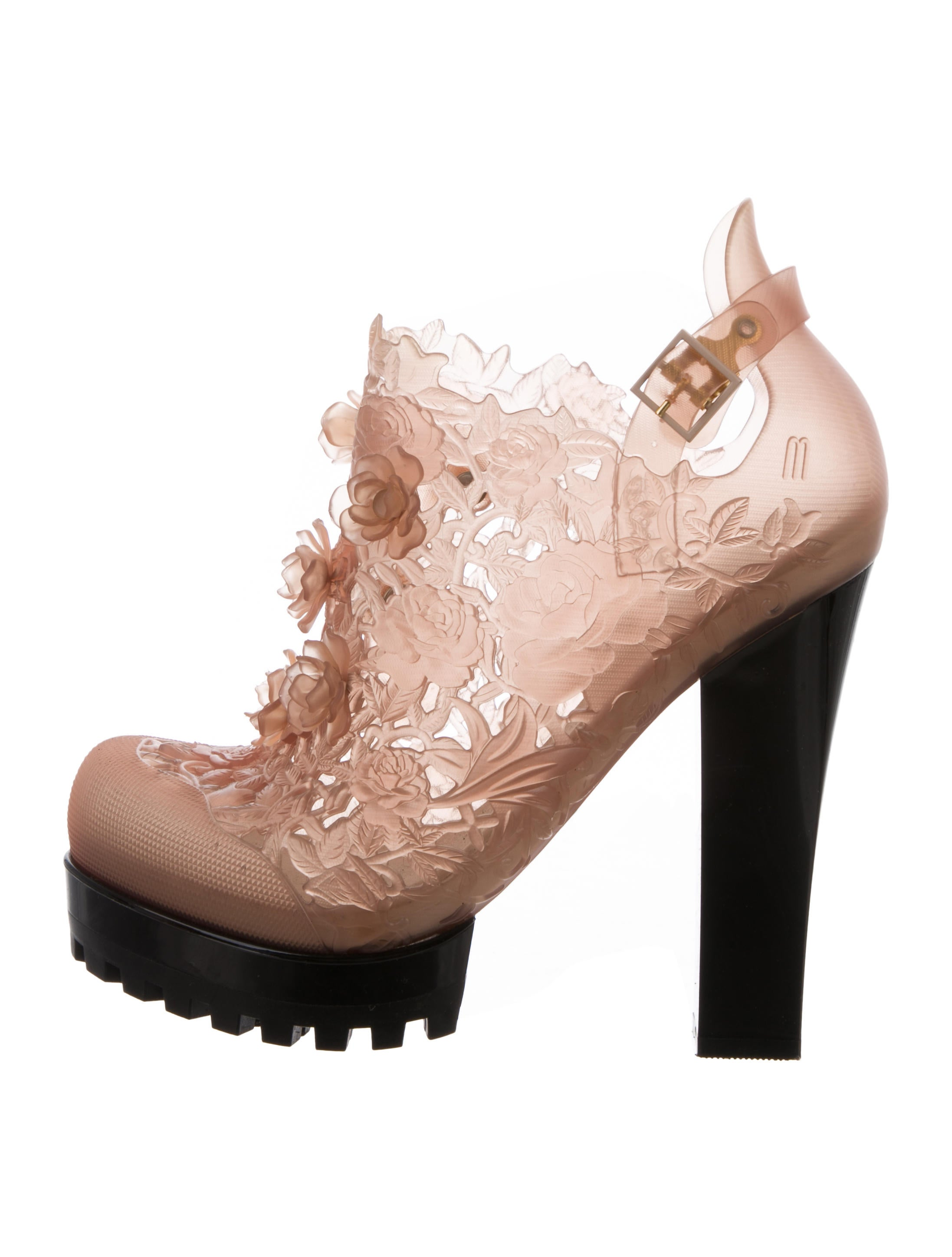 Melissa x Alexandre Herchcovitch Floral Ankle Boots finishline online buy cheap outlet locations vFGf1e80d