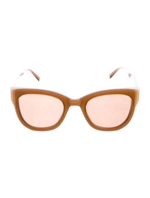 Maiyet x Warby Parker Bird Cat-Eye Sunglasses brow