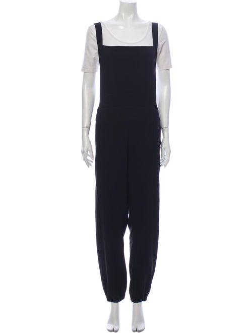 Malia Mills Square Neckline Jumpsuit w/ Tags Black