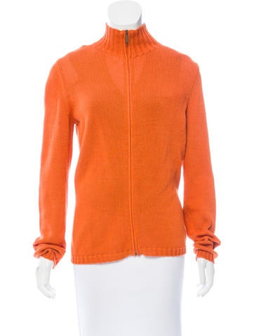 Weekend MaxMara Knit Zip-Up Cardigan Set None