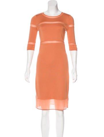Manrico Cashmere Cashmere Knee-Length Dress None