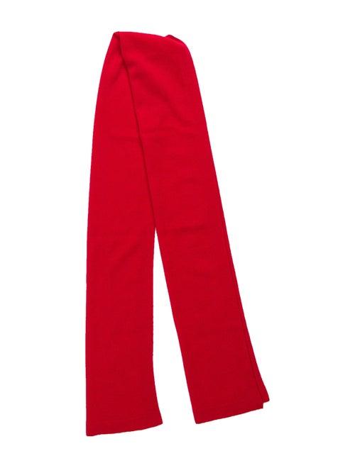 Manrico Cashmere Cashmere Scarf Red
