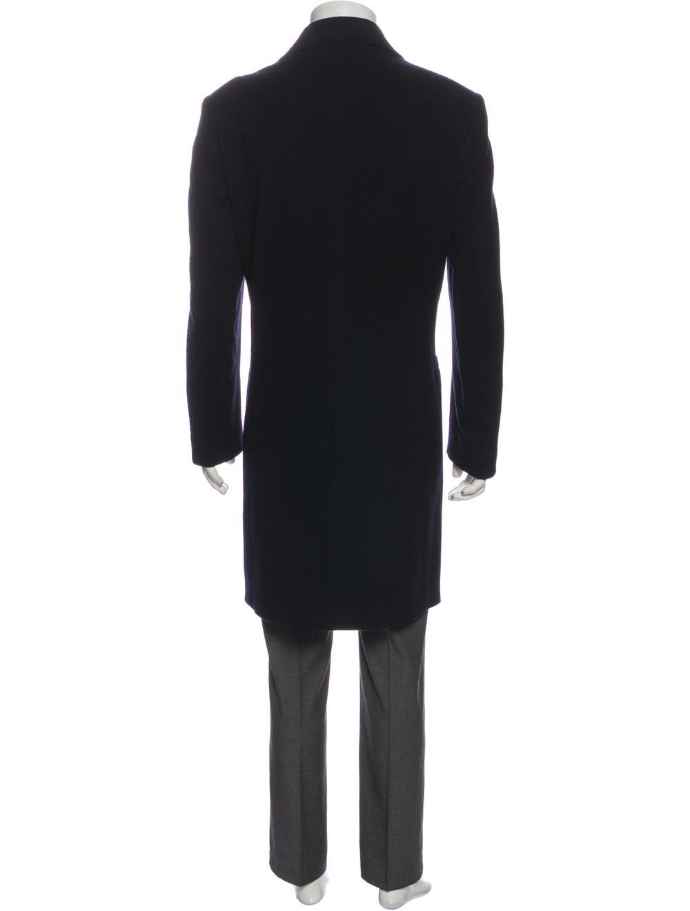 Manrico Cashmere Cashmere Overcoat Black - image 3
