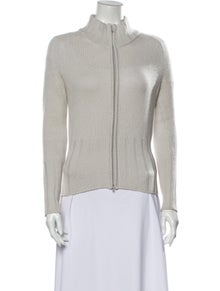 Manrico Cashmere Cashmere Mock Neck Sweater