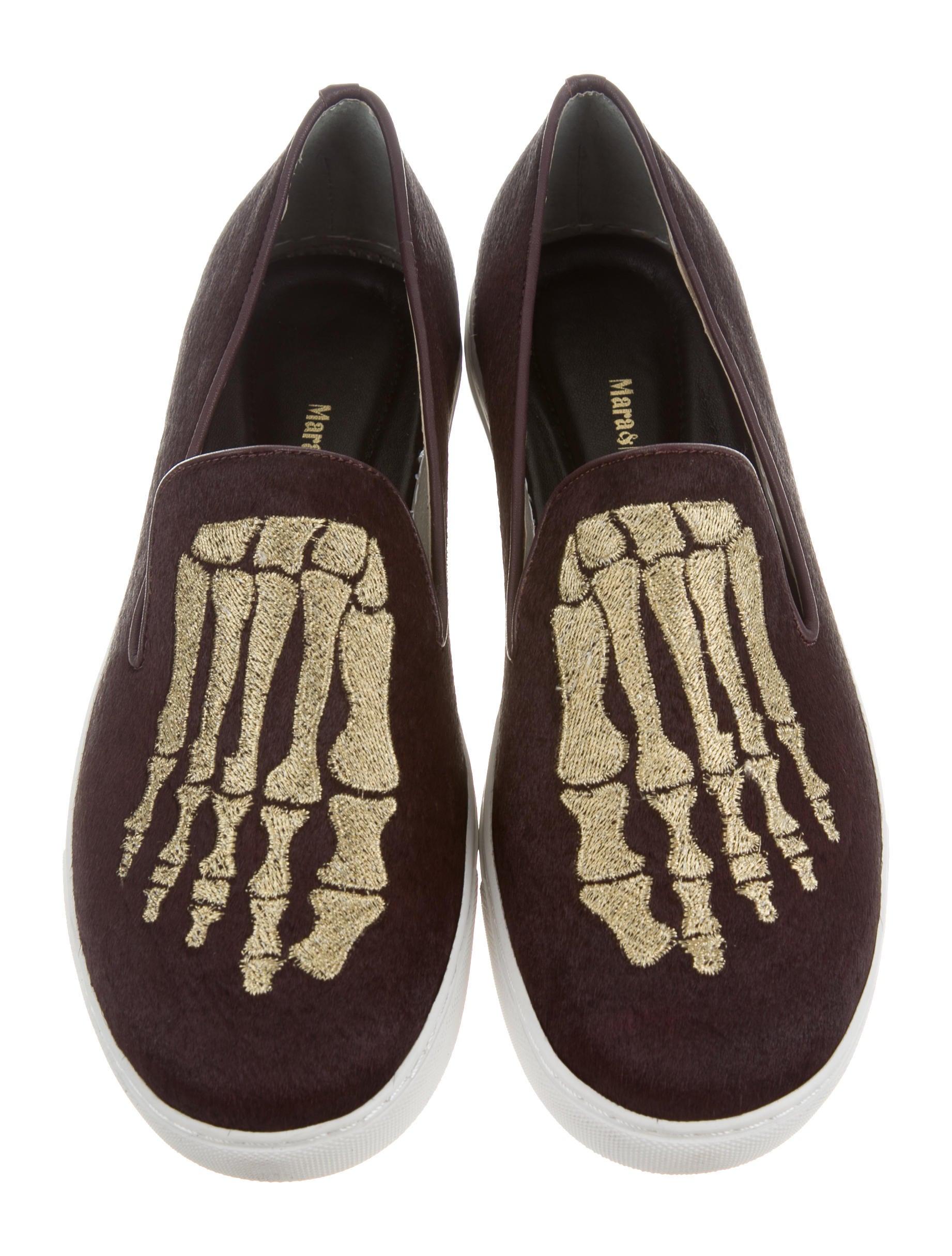 fake cheap price Mara & Mine Jem Skull Sneakers w/ Tags big sale online OMUGJt4Qe