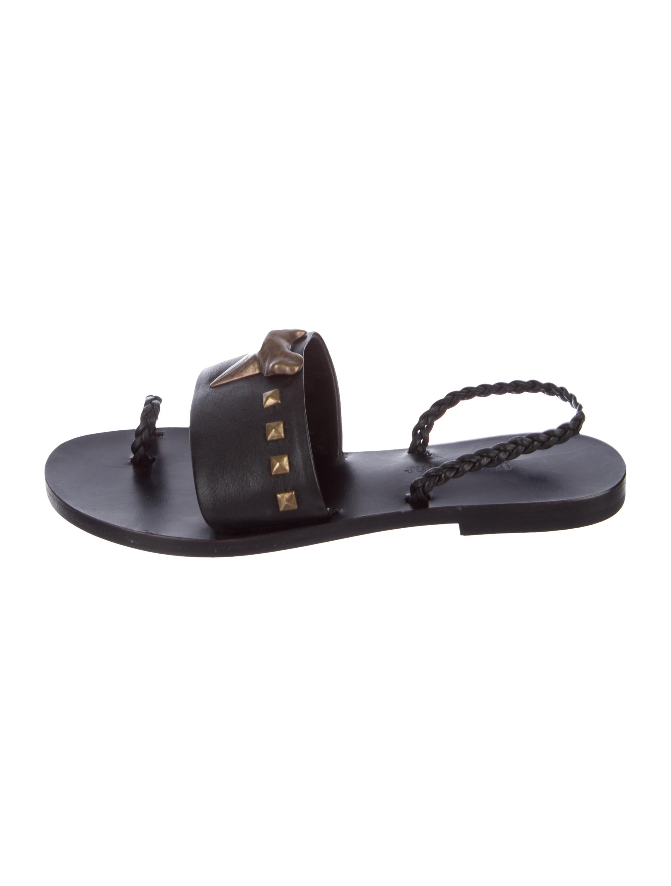 outlet order Mara & Mine Leather Embellished Sandals clearance best geniue stockist online recommend low cost cheap online idIbfYr