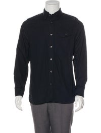 Woven Button-Up Shirt image 1
