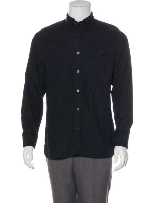 Woven Button-Up Shirt