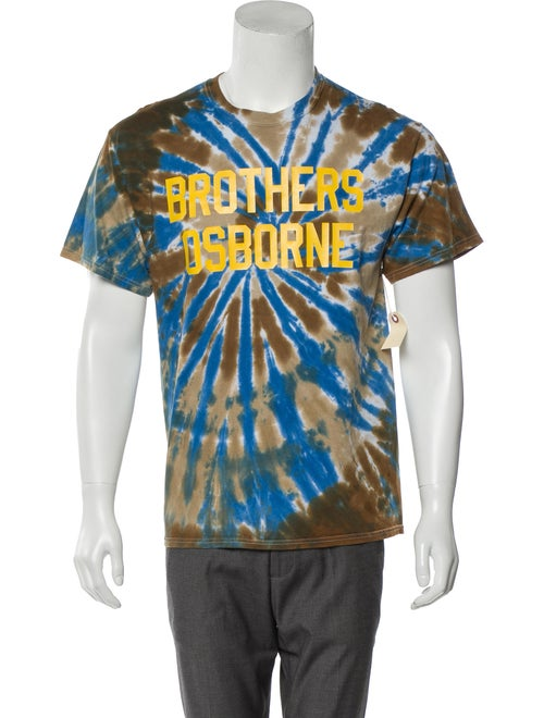 Mark McNairy New Amsterdam Tie-Dye Graphic T-Shirt