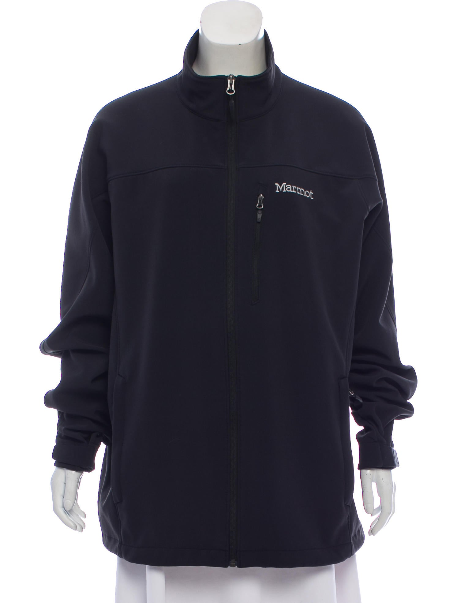 Logo Fleece Lined Jacket