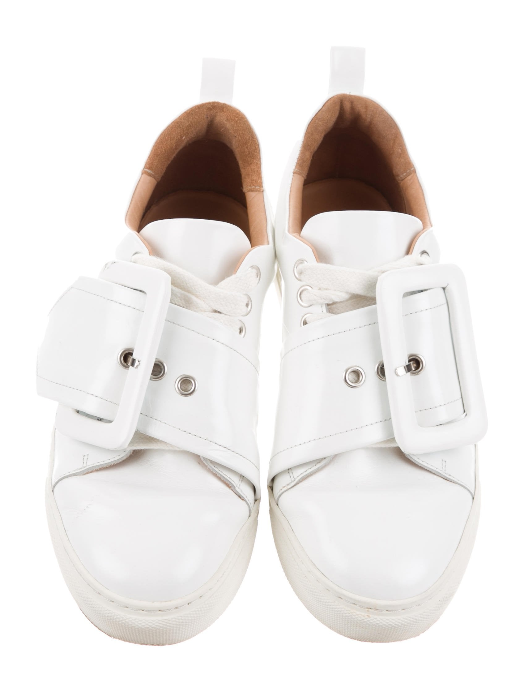 Manchester online in China Marques' Almeida Marques'Almeida Buckle Low-Top Sneakers sale geniue stockist online cheap price really HfURaEK