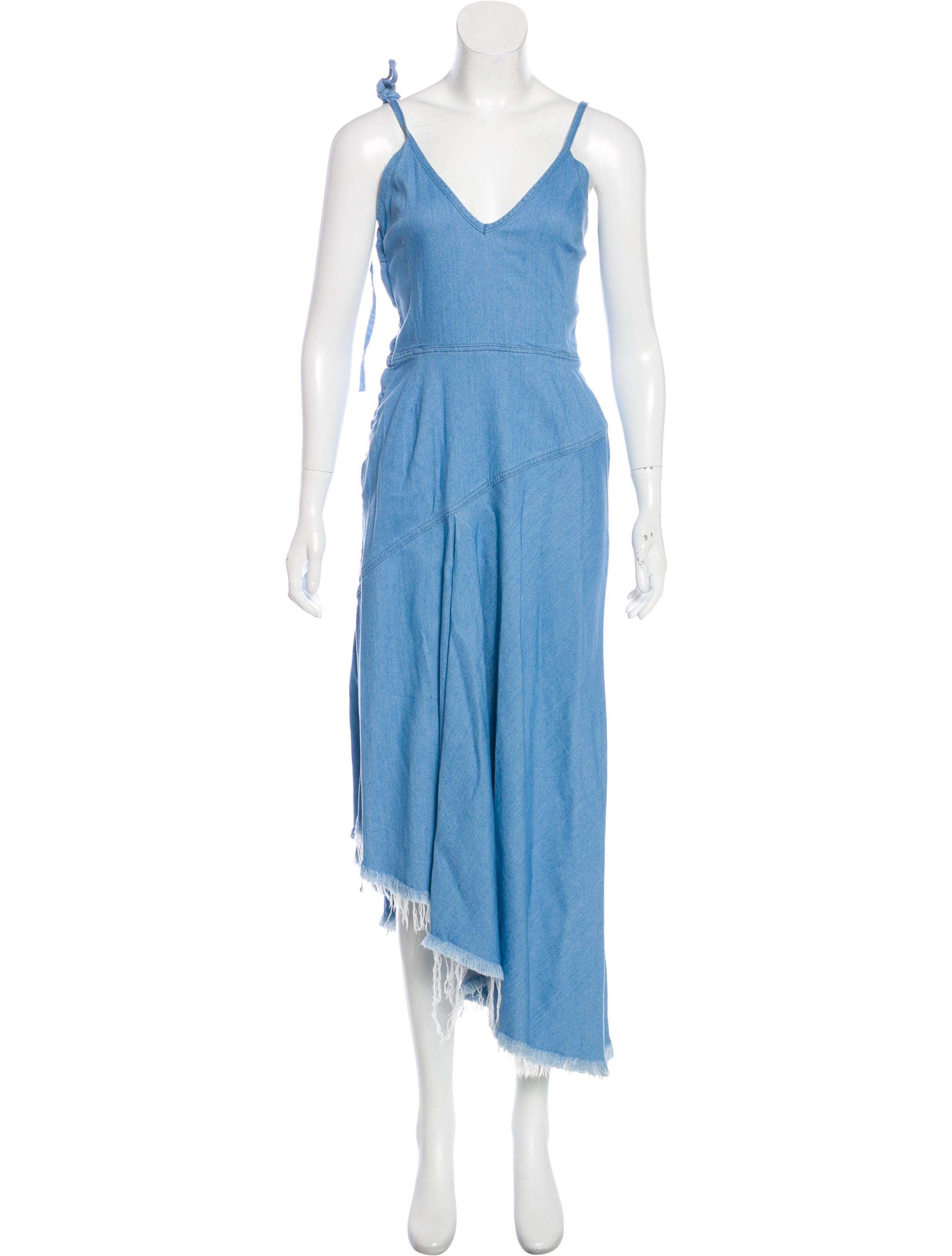 a88eef86dba Marques  Almeida Denim Maxi Dress w  Tags - Clothing - WMARQ20661 ...