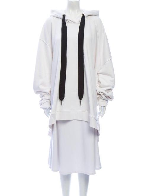 Marques' Almeida Crew Neck Long Sleeve Sweatshirt