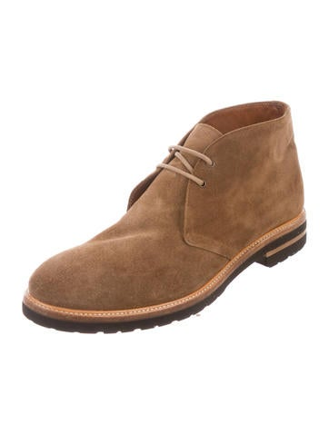 Suede Desert Boots w/ Tags