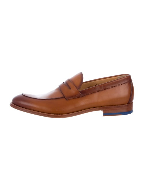 Antonio Maurizi Leather Penny Loafers brown