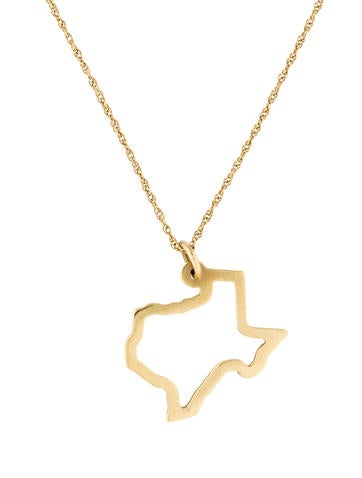 Maya brenner designs 14k texas pendant necklace necklaces 14k texas pendant necklace mozeypictures Images