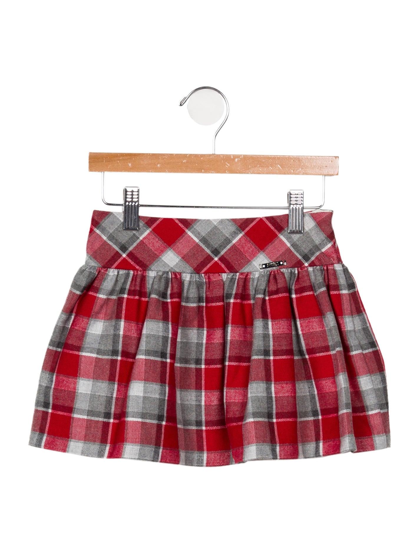 3dd74feb3 Mayoral Girls' Plaid Mini Skirt - Girls - WMAYL20156 | The RealReal
