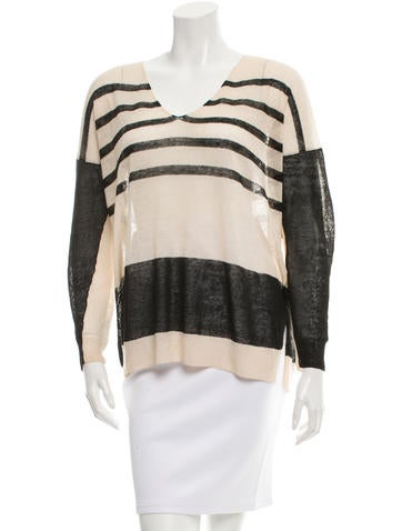 By Malene Birger Striped Linen Sweater None