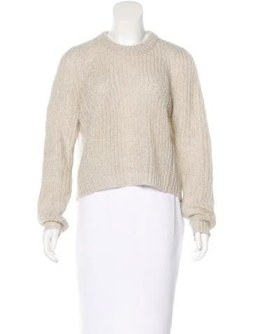 By Malene Birger Linen-Blend Oversize Sweater None