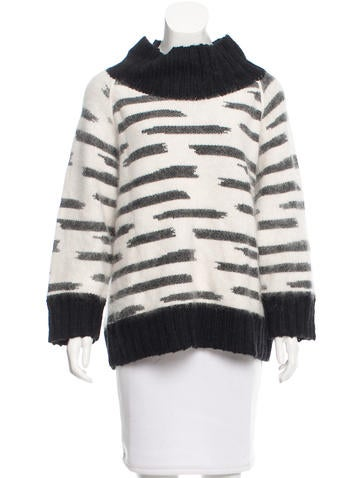 By Malene Birger Patterned Rib Knit Sweater None