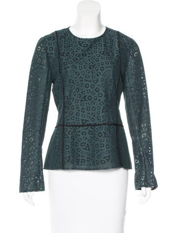 By Malene Birger Lace Long Sleeve Top w/ Tags None