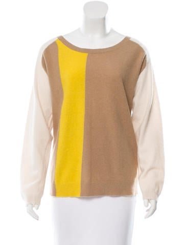 By Malene Birger Angora & Wool-Blend Colorblock Sweater None