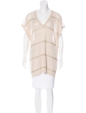 By Malene Birger Linen Oversize Sweater None
