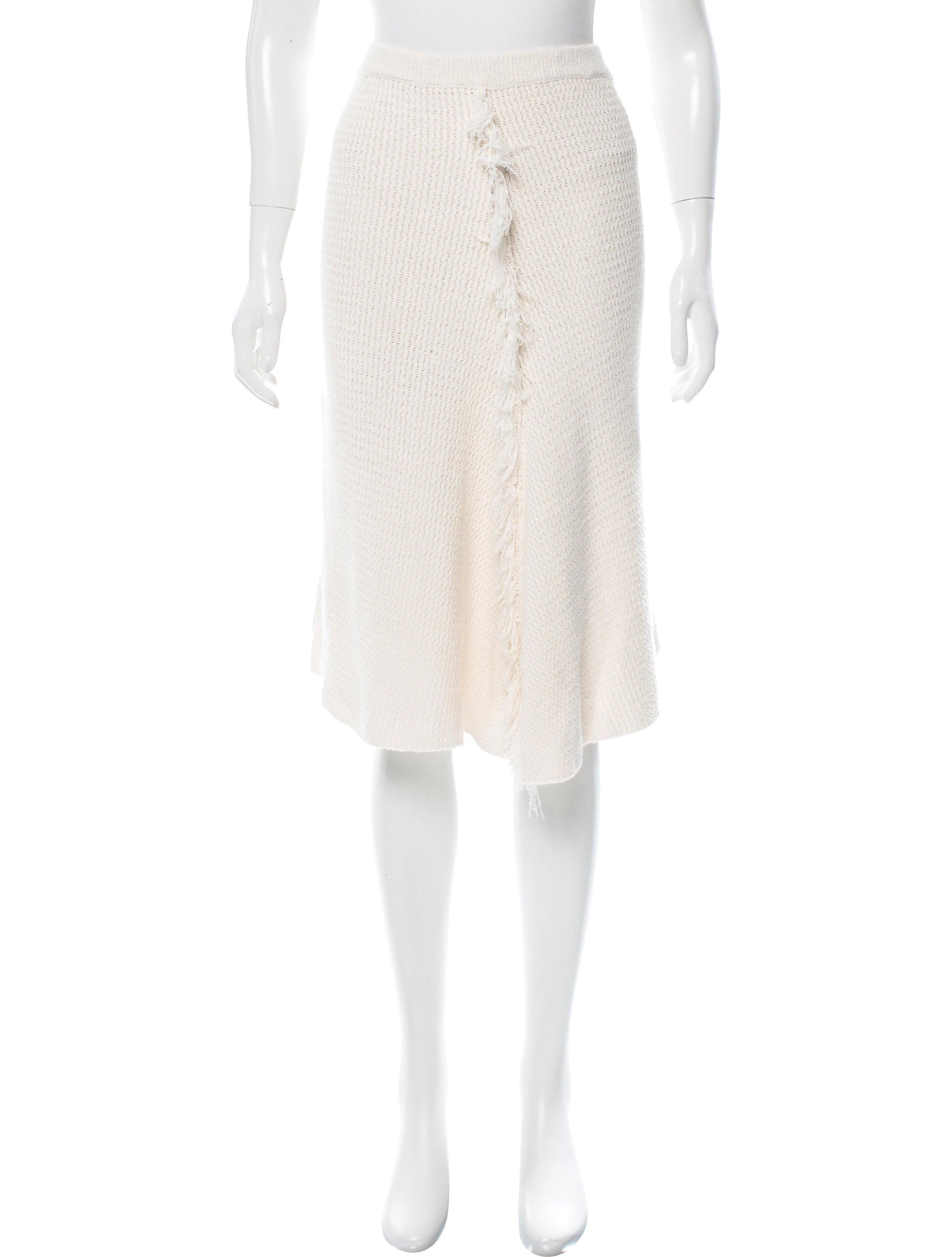 by malene birger knit knee length skirt clothing