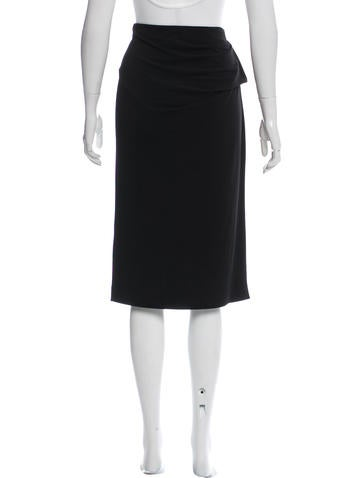 by malene birger gathered pencil skirt w tags clothing
