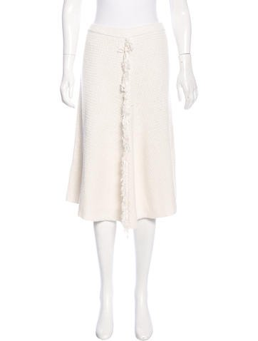 By Malene Birger Knit A-Line Skirt w/ Tags None