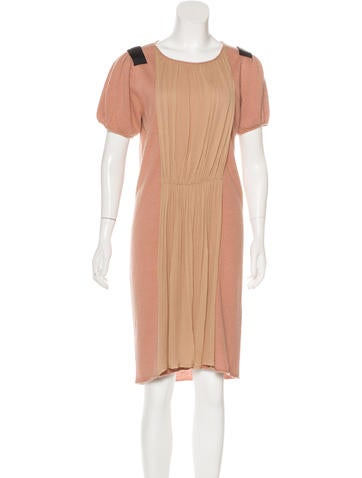 By Malene Birger Wool-Blend Midi Dress None
