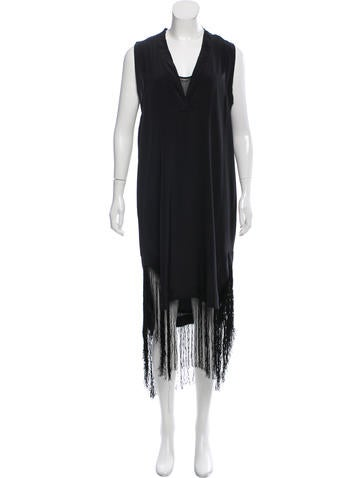 By Malene Birger Silk Maxi Dress None