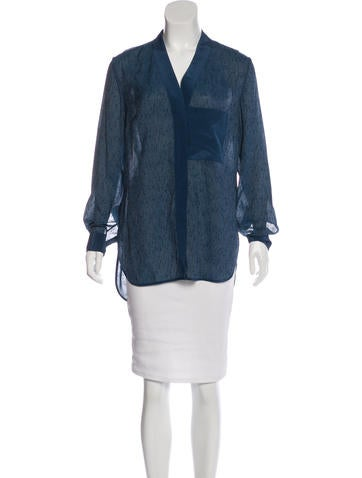 By Malene Birger Silk-Blend Rakiki Top w/ Tags None