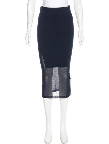 By Malene Birger Knee-Length Pencil Skirt w/ Tags None