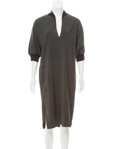 By Malene Birger Oversize Midi Dress None