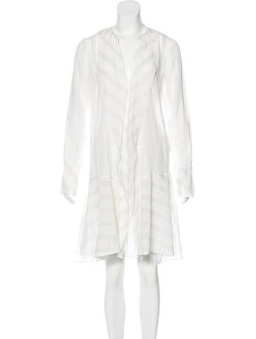 By Malene Birger Silk Mini Dress None