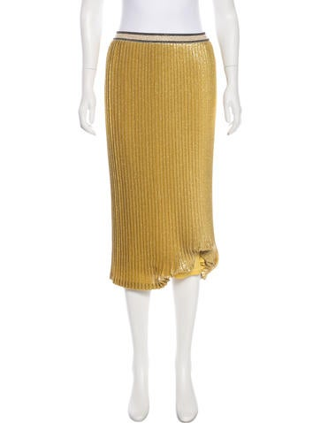 By Malene Birger Pleated Midi Skirt w/ Tags None