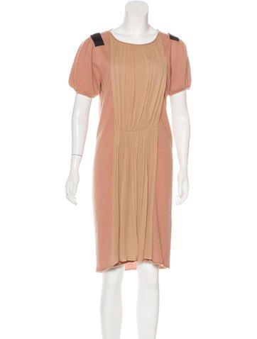 By Malene Birger Wool-Blend Midi Dress None