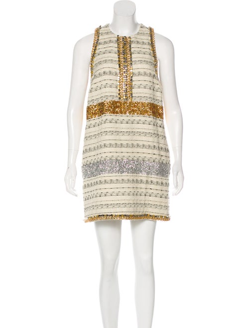 39ca1bcf18d By Malene Birger Embellished Tweed Dress - Clothing - WMB23924 | The ...