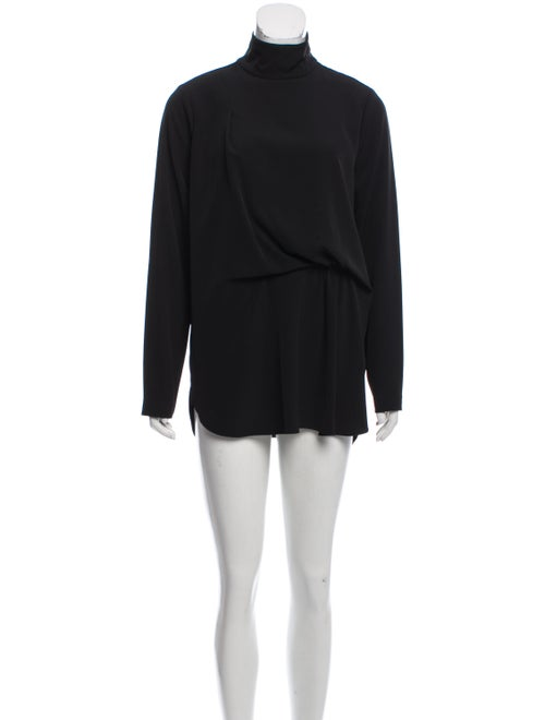 By Malene Birger Turtleneck Long Sleeve Tunic Blac