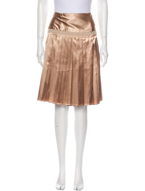 By Malene Birger Raw-Edge Trim Knee-Length Skirt M