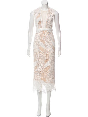 Manning Cartell Embroidered Maxi Dress None